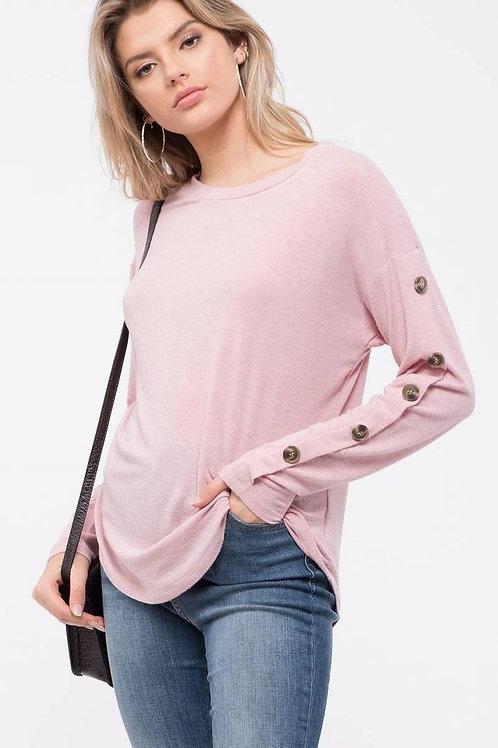 *Simple Joy Top-Pink