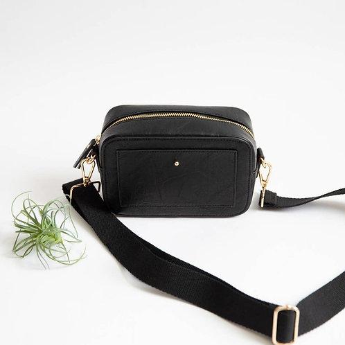 *'Camera' Crossbody Bag - Black