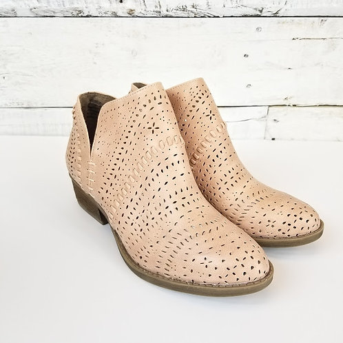 Not Rated Noka Pale Rose Bootie