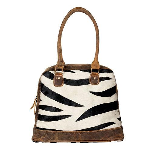 *Myra Bags Zebra Style Hairon Bag-2143
