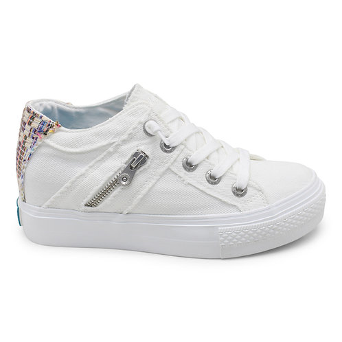 *Blowfish Melondrop Sneaker-White Smoked