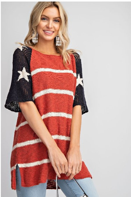 *Feeling A Bit Patriotic Top