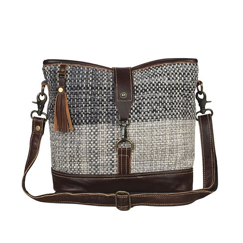 Myra Bags - Rough Textured Shoulder Bag S-2112