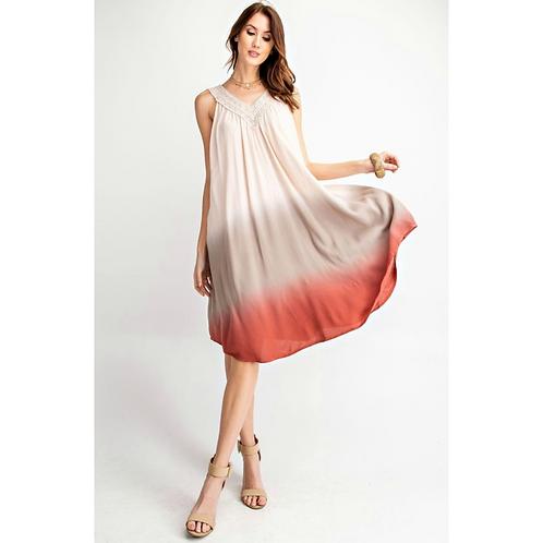*Dip Dyed Date Dress