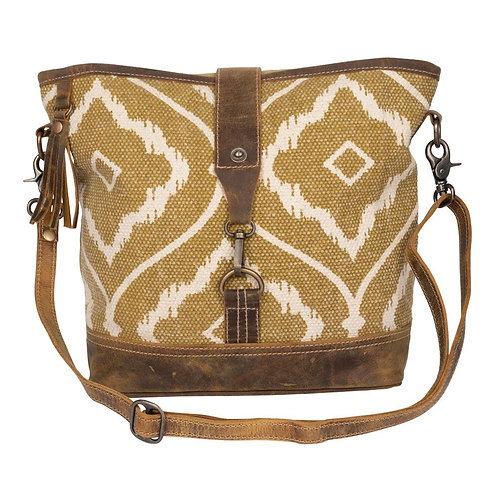 *Myra Bags Brown Aesthetics Shoulder Bag-2228