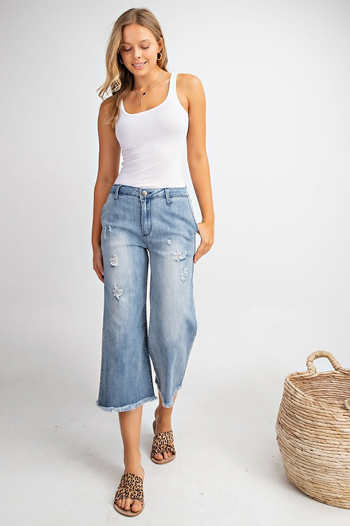*The Rylie Wide Leg Jeans