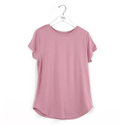 *Hello Mellow Dream Tee-Pink