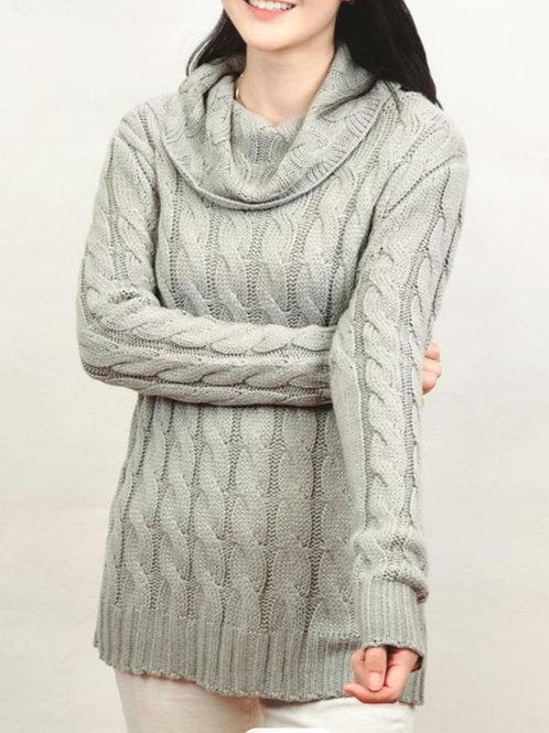 Snow Day Sweater-Grey