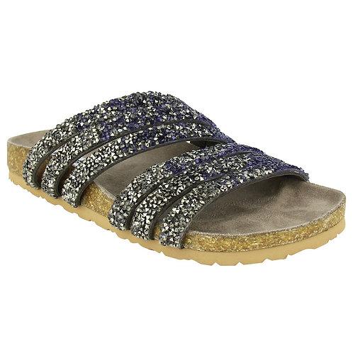 Last 1! NR Very Bushey Navy/Charcoal Ombre Sandal