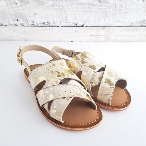 *NM Cup of Tea Pony Hair Sandal