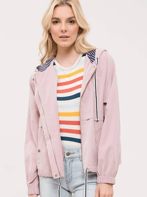 *Chi-Town Adventure Jacket-Pink