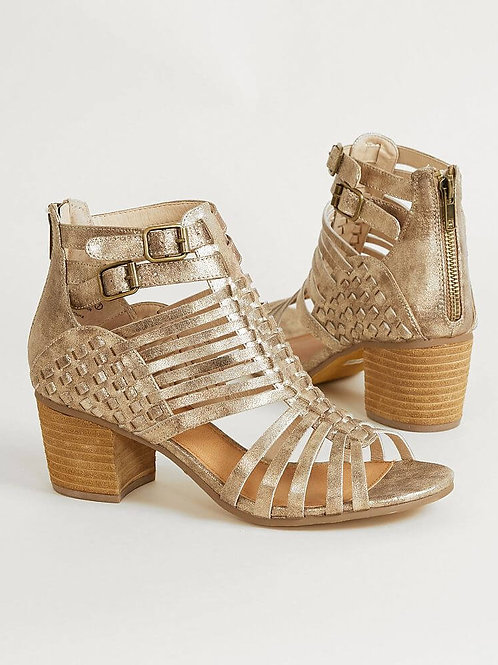 *NR Ofanto Gold Sandals