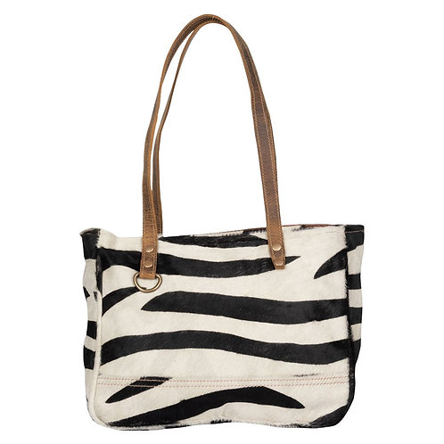 *Myra Bags Stripey Eloquence Hairon Small Bag-2191