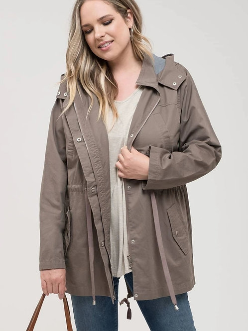*PLUS Catching The Wind Jacket - Mocha