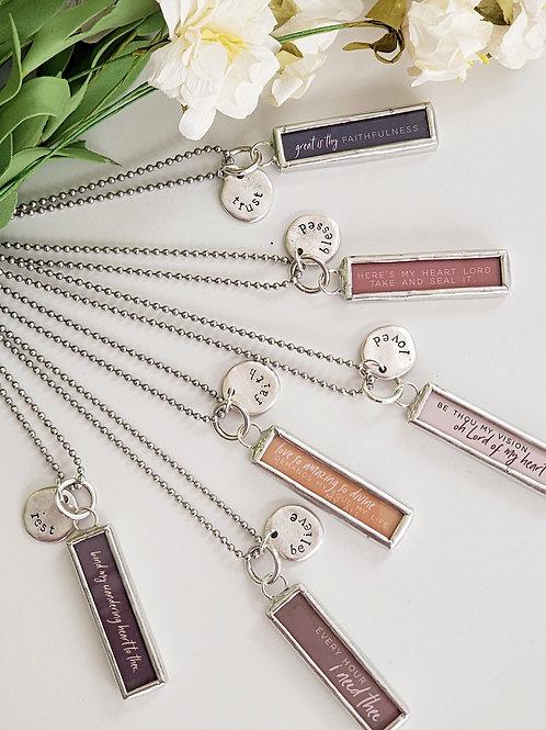Faith Hymn Necklaces