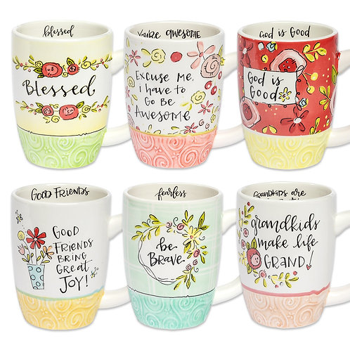 *Brownlow Simple Inspirations Cheerful Mug