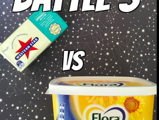 BATTLE 3: Butter Vs Margarine