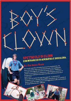 Boy's Clown