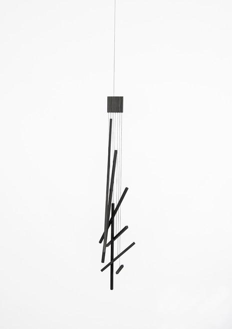 Hanging mobile sculpture