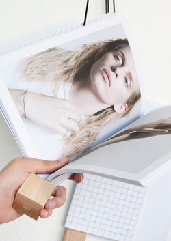 On magazine holder for Nyova