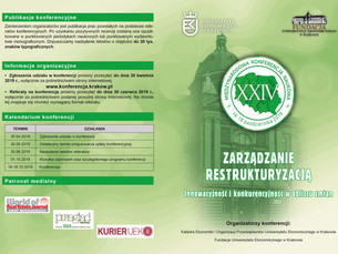 XXIV Międzynarodowa Konferencja Naukowa