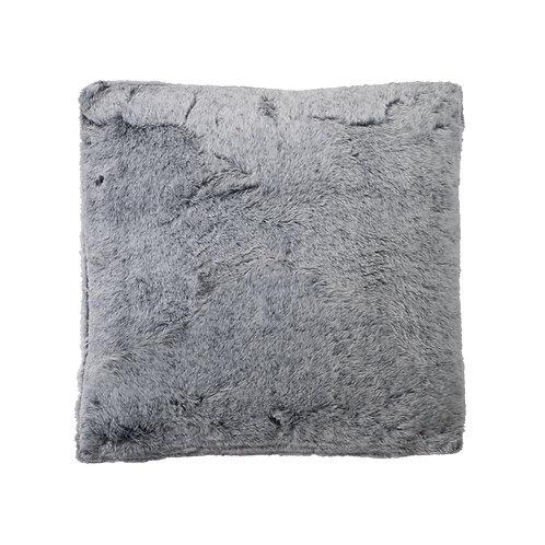 Kussen grijze vacht