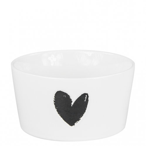 Bastion bowl white/heart