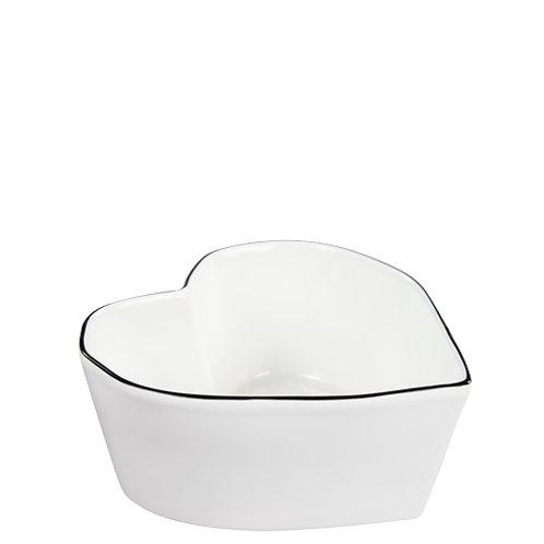 Bastion bowl heart shape large