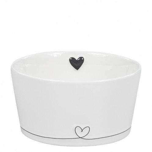 Bastion bowl white/line