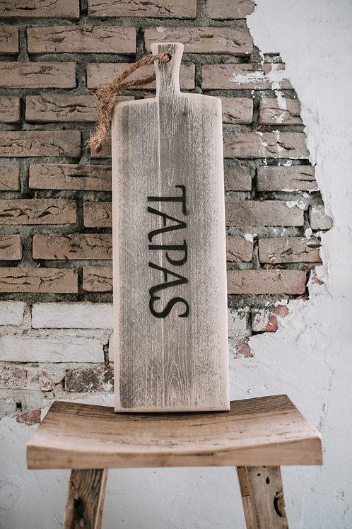 """Steigerhouten """" TAPAS plank"""" 50 cm"""