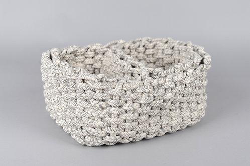 Coton tissé - rechthoekige manden - Set van 3
