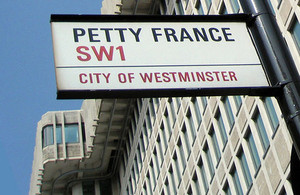 Ministry of Justice Headquarters,   Petty France,  London