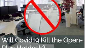 Will Covid19 kill the open-plan hotdesk?