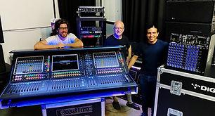 המיקסר בעל הטכנולוגיה המתקדמת בעולם נוחת בישראל - ישר לחברת ההגברה של אריאל חמצאני