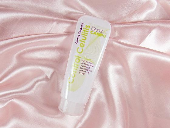Crema corporal control celulitis