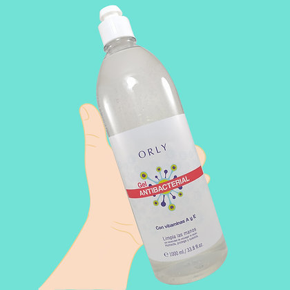 Gel antibacterial litro