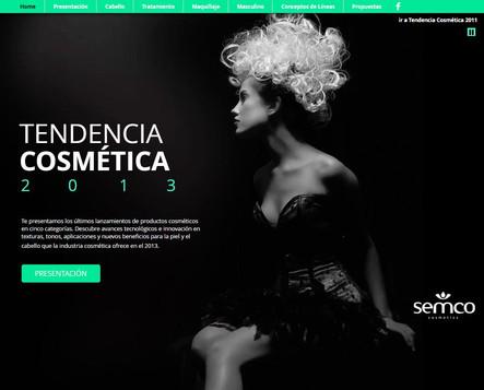 Tendencia cosmética 2013