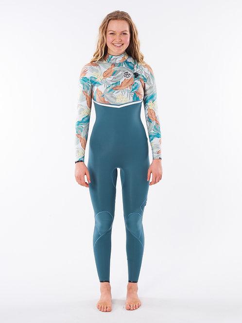 Women E Bomb 4/3 Zip Free Wetsuit