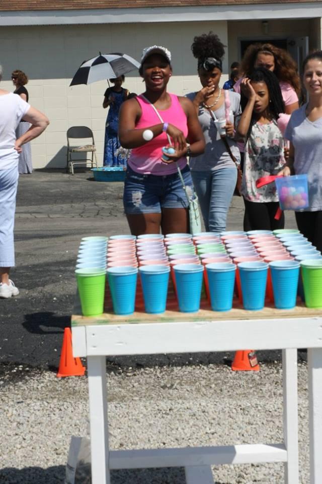 Cup Toss