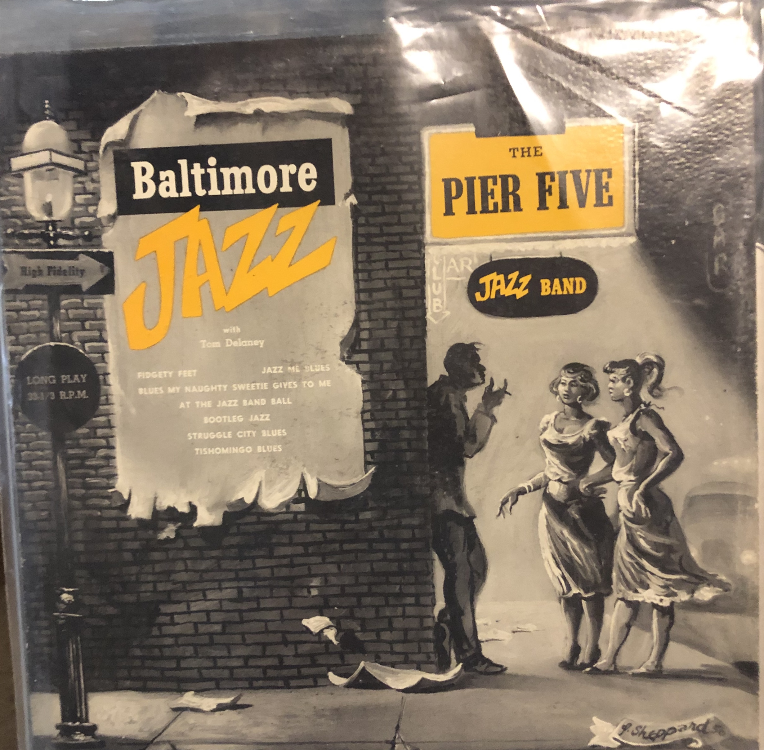 """Baltimore Jazz"" by The Pier Five Jazz Band."