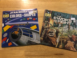 "Star Wars 7"" records."