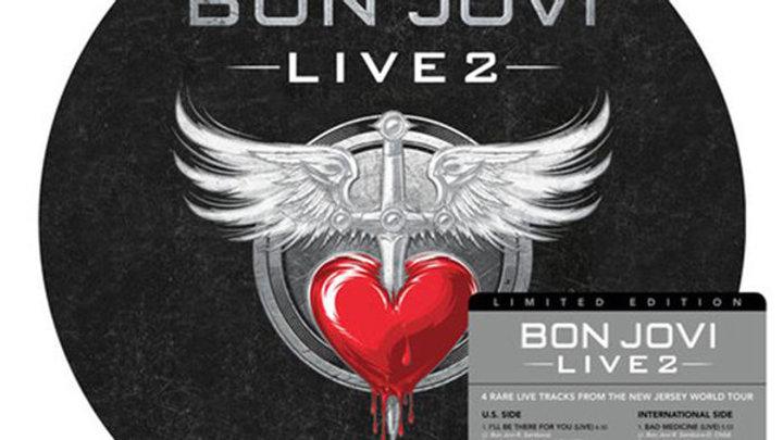 """Live 2 - Bon Jovi (10"""" Vinyl)"""