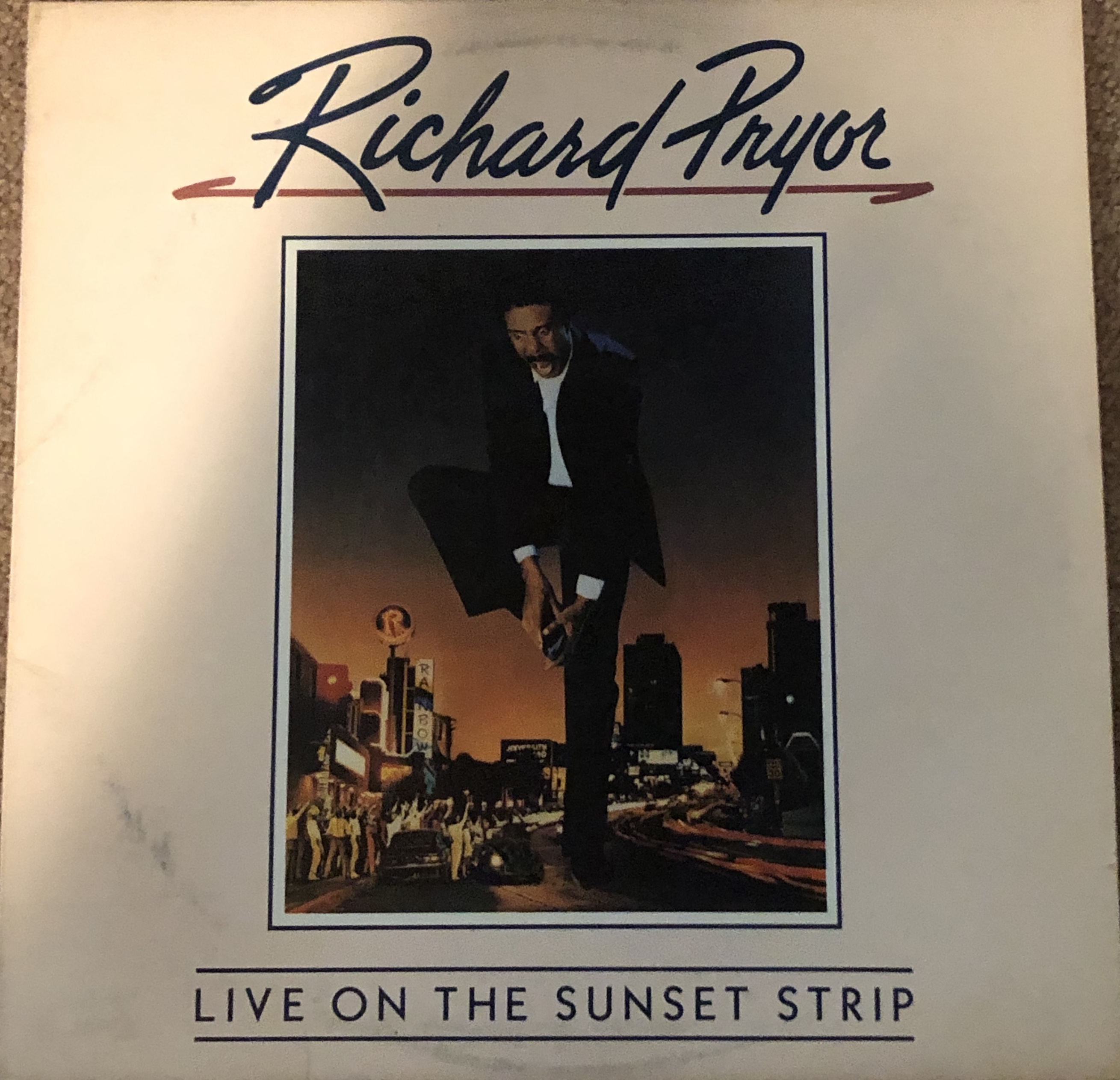 """Live On The Sunset Strip"" by Richard Pryor."