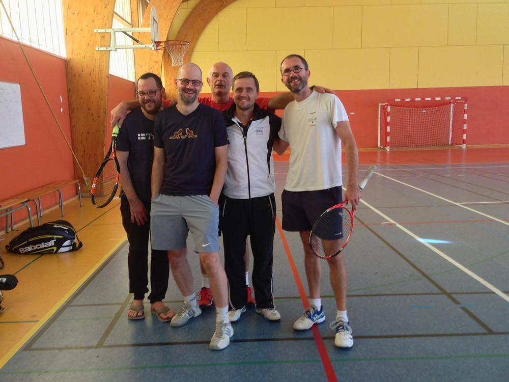 Photo fun avec nos amis de Souché!