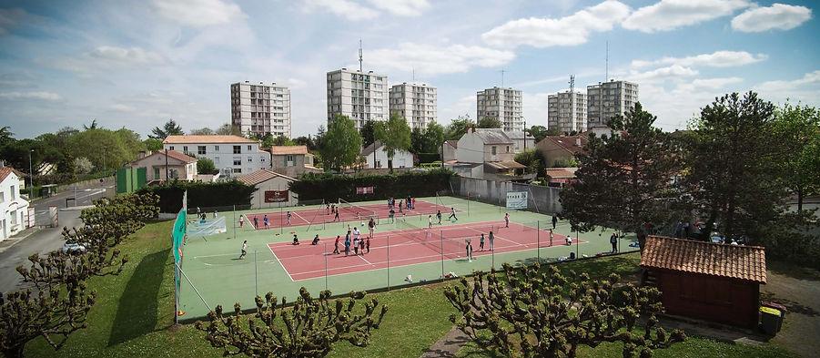 stade niortais tennis niort terrains extérieurs