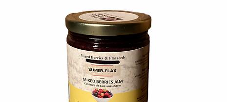Mixedberries & Flaxseeds Jam