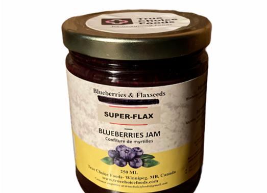 Blueberry & Flaxseeds Jam
