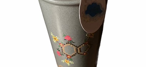 Hand Painted Travelling Mug