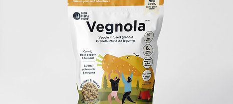 Carrot, Black Pepper & Tumeric Veggie Infused Granola