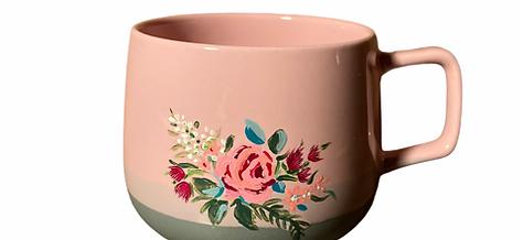 Pair of Hand Painted Mugs